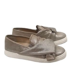 Vince Camuto Barita Studded Suede Slip On Shoes